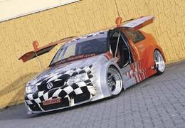VW Bora Carline : orange mécanique
