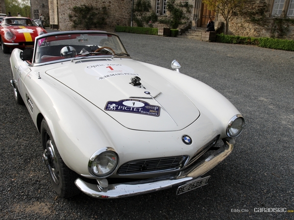 Photos du jour : BMW 507 (Tour Auto)