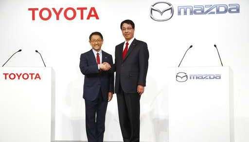 Toyota et Mazda main dans la main, créent une joint-venture