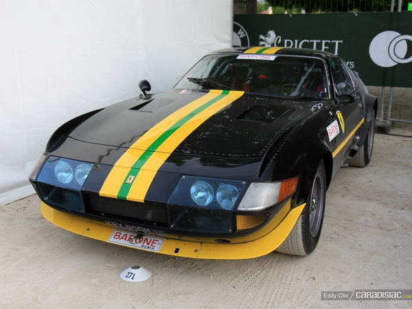 Photos du jour : Ferrari 365 GTB/4 Daytona Groupe IV (Tour Auto)