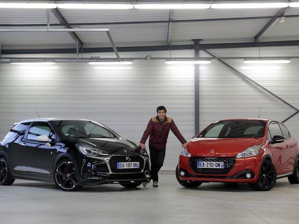 Comparatif vidéo - DS3 Performance - Peugeot 208 GTI By Peugeot Sport : dispute familiale