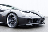 Ferrari 599 GTB Fiorano par Hamann: précisions et photos HD