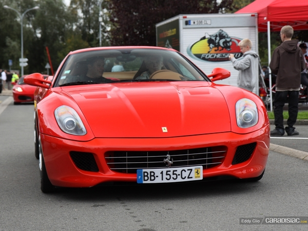 Photos du jour : Ferrari 599 Fiorano (Fait Rarrissime)