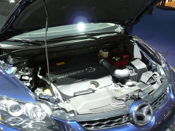 En direct de Francfort : Mazda CX-7 MZR-CD, une version diesel très attendue