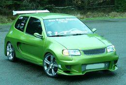 VW Polo kit large : Fourmiz attack !