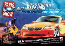 Paris Tuning Show 2004 :   les nouveautés à ne pas manquer