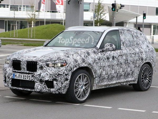 BMW: un X3 M en préparation