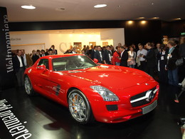 Mercedes SLS AMG en direct de Francfort