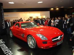 Mercedes SLS AMG en direct de Francfort