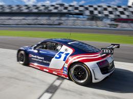 L'Audi R8 Grand-Am en essais à Daytona