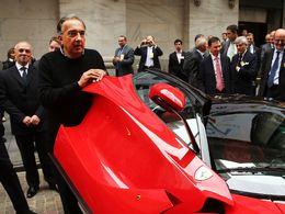Sergio Marchionne, patron du groupe Fiat, prend la tête de Ferrari