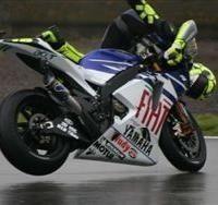 Moto GP: Grande Bretagne D.1: La chute de Valentino.