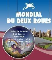 Le Mondial Du Deux Roues 2009 annulé et reporté en 2010