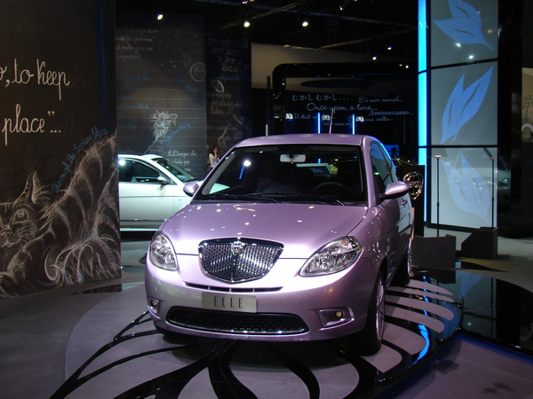 Francfort 2009 : Show Car Lancia Ypsilon Elle en direct