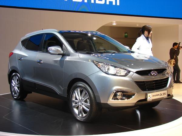 Hyundai Ix 35 : le remplaçant du Tucson en direct de Francfort
