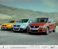 VW Cross Touran en vidéo
