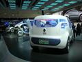 Reportage : les 4 Concepts électriques Renault exposés à Paris avant une commercialisation en grande série dès 2011...