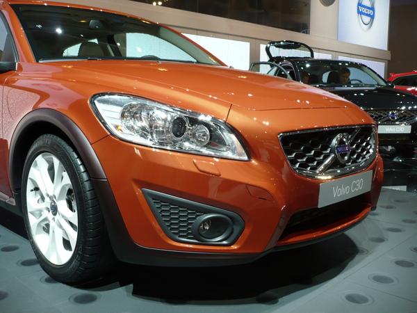 En direct de Francfort : C30 et C70 restylées, plus fines mais moins Volvo