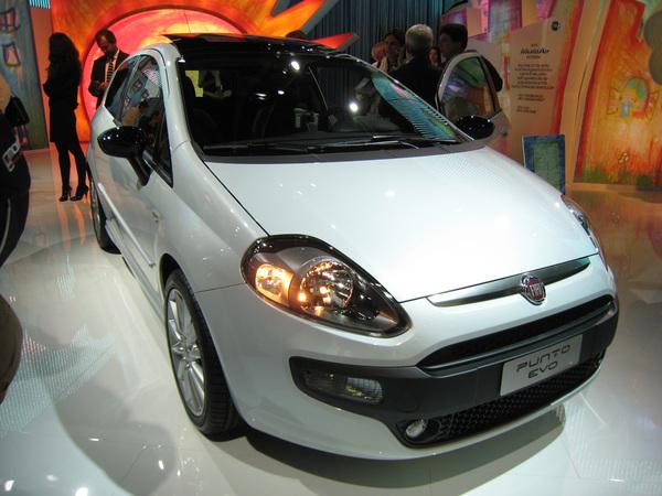 Francfort 2009 : Fiat Punto Evo: c'était mieux avant