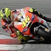 Moto GP - Sepang D.2: Valentino Rossi est resté au lit