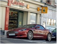 Photo du jour : Aston Martin DB9 Volante