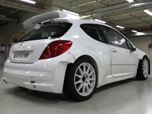 Peugeot développe encore la 207 S2000