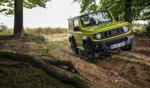 Suzuki : débuts encourageants pour le Jimny en France