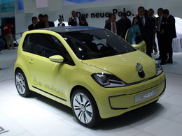 Volkswagen E-up en direct de Francfort