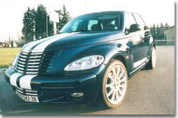 le chrysler pt cruiser des transformations accessibles. Black Bedroom Furniture Sets. Home Design Ideas