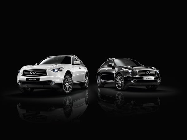 Infiniti FX Black & White Edition : encore plus exclusif