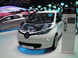 Les voitures électriques poursuivent leur progression en France