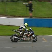 Moto GP: Grande Bretagne: L'étourderie arrive même au meilleur !
