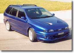 Fiat Marea version Carrosserie Bouduban : le break radical