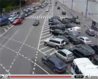 Vidéos: Trafic en Russie