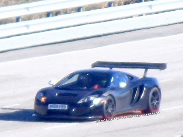 La McLaren MP4-12C GT3 surprise en test!