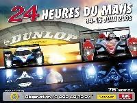 24 Heures du Mans 2008: L'affiche officielle