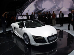 Audi R8 Spyder en direct de Francort