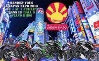 Calendrier : Kawasaki à Japan Expo 2013