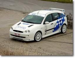 Une Ford Focus façon WRC