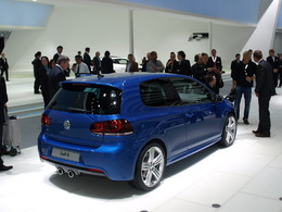 Volkswagen Golf R en direct de Francfort