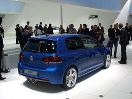 Volkswagen Golf R en direct de Francfort