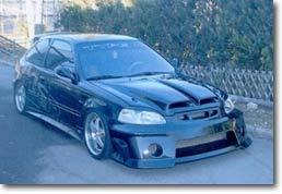 Honda Civic Tuning Cars : une Japonaise façon Mad Max