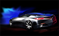 Acura 'Advanced Sports Car Concept' : La NSX 2 masquée