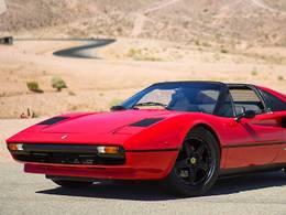 Insolite : une Ferrari 308 GTS électrique avec une boîte de Porsche