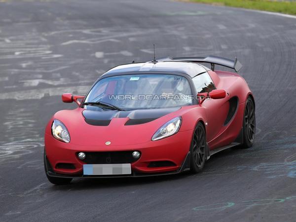 Est-ce là la version route de la Lotus Elise S Cup R ?