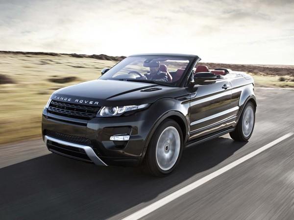 Le Range Rover Evoque restera couvert