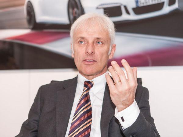 Porsche : Matthias Müller veut une gamme de 7 modèles