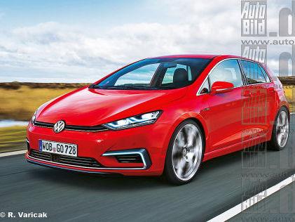 Volkswagen Golf VIII: les 1ères indiscrétions