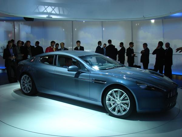 Francfort 2009: Aston Martin Rapide : la voici enfin