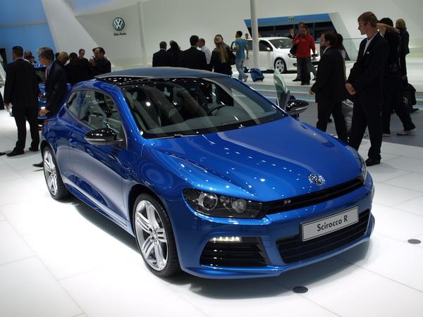 Volkswagen Scirocco R en direct de Francort